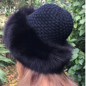 Accessories - Fur and wool hat